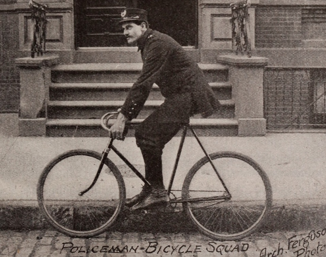 Policeman Bicycle Squad