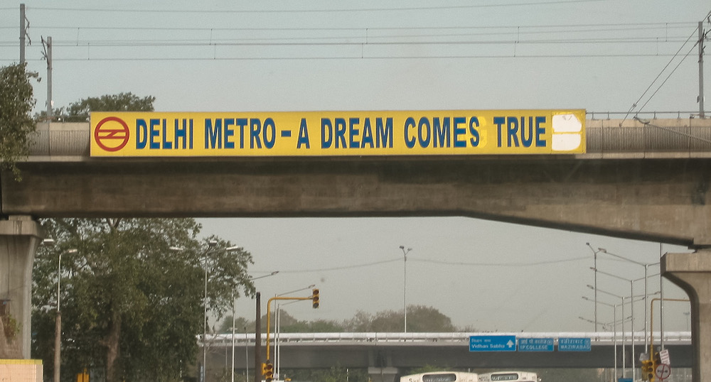 delhi metro - a dream comes true