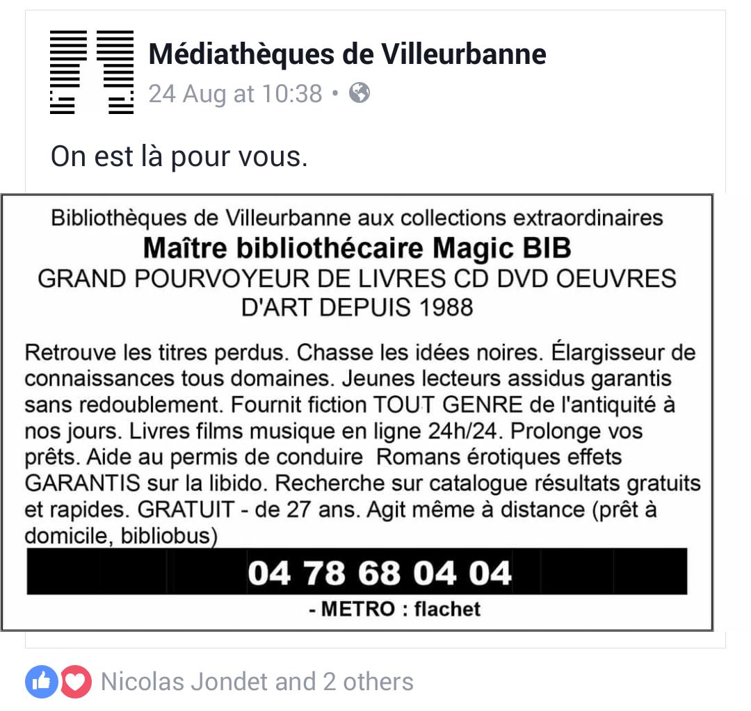 Maître bibliothécaire Magic BIB